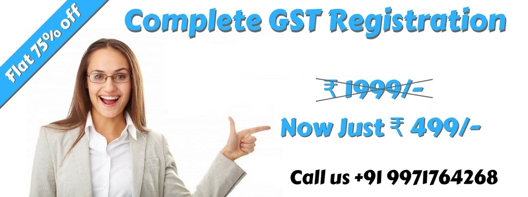 Online gst registration in delhi rs 499 accountantfirm